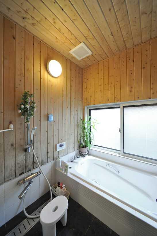 茨城県つくば市Y様 不二建設 パッシブハウス 太陽光発電 ソーラー 造作浴室 ヒノキ