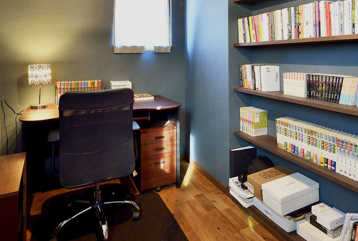 スタディコーナー・書斎・趣味室
