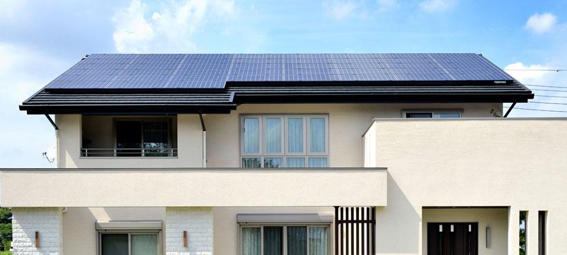 ZEH(ゼロエネルギーハウス)の家