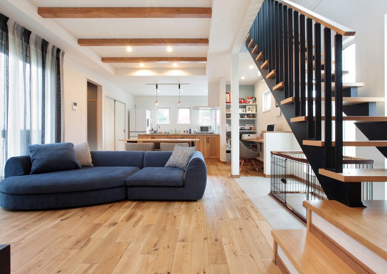 茨城県で3,000棟の注文住宅の新築戸建ての実績ある工務店が建てた完全自由設計の家の外観