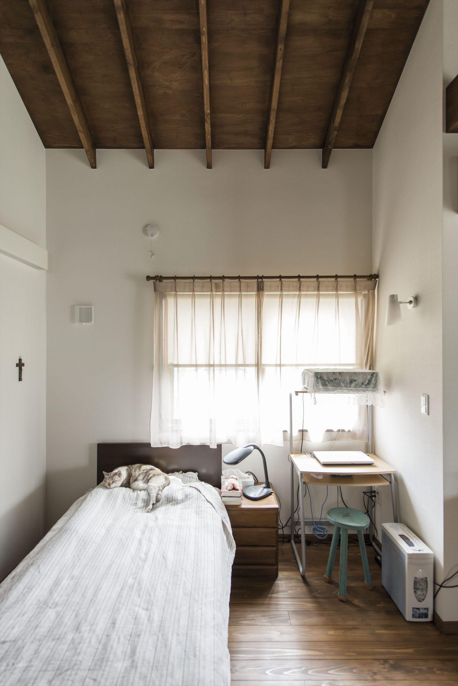 ワンルームの開放的な平屋の住まい