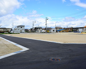 現地調査は敷地の立地状況を正確に計測、把握することが第一歩
