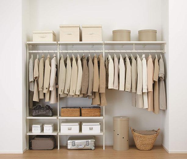 衣類の収納例