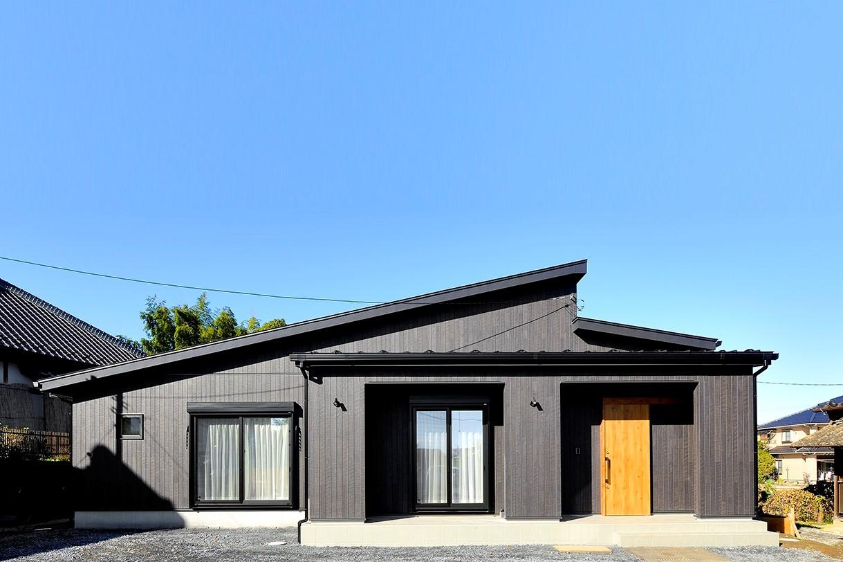 家事動線とカフェスタイルが自慢の平屋の家