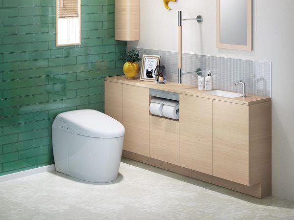 水回りリフォームで快適な空間+設備を手に入れる~おしゃれで広い使い勝手のよいトイレ