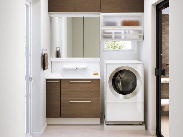 増改築・リフォームでお好きな場所だけを新しく~きれいで使い勝手の良い洗面・浴室空間